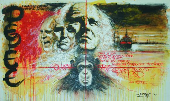 Oeuvre originale de José CORREA